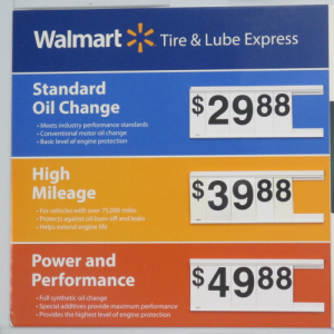 Walmart Oil Change Price >> How Much Is A High Mileage Oil Change At Walmart Stikkitnow
